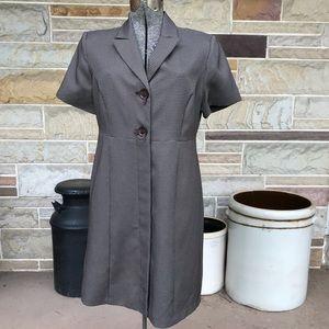 Danny & Nicole Coat Dress